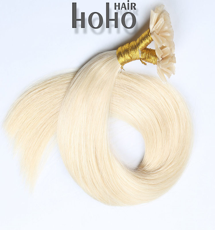 China Wholesale Price Pro Straight 614 Blond 20 Inch U Tip Hair