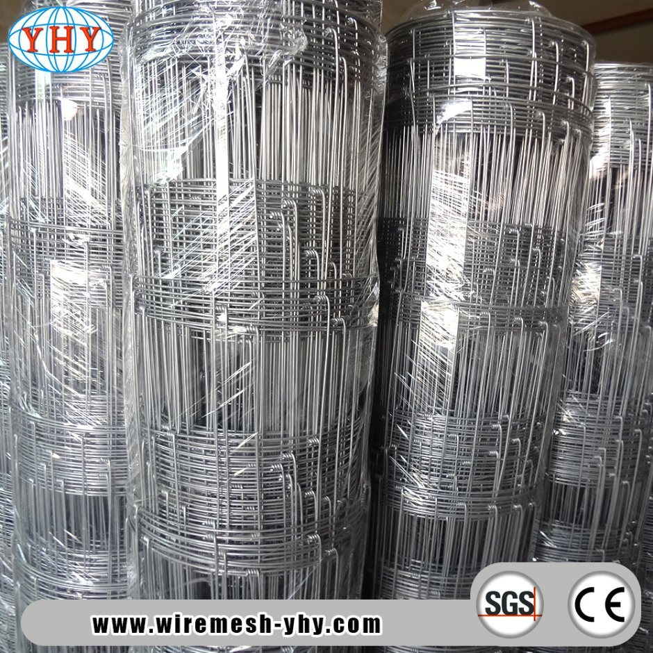 China Livestock Farm Galvanized Woven Wire Mesh Fence for Animals ...