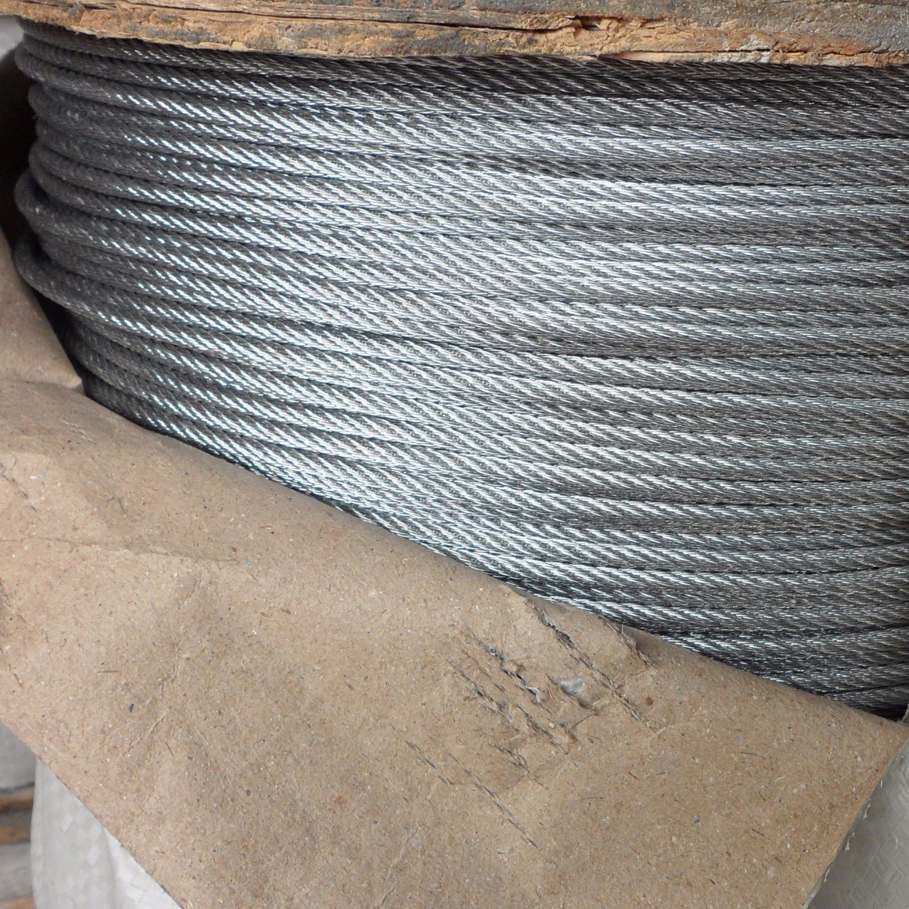 "50/' 3//32/"" 2.5mm 7x19 Stainless Steel T316 Cable Wire Rope"