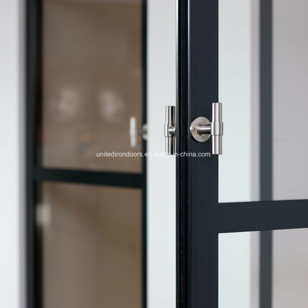 Elegent Modern Style Interior Iron Doors