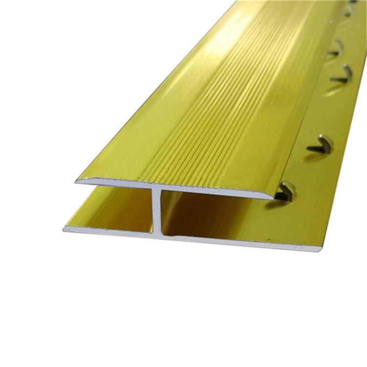 China Aluminum Floor Tile Transition Metal Carpet Transition