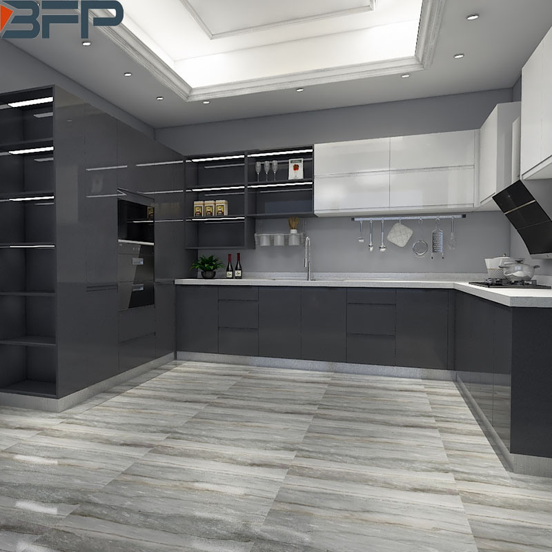 China Australian Black High Gloss Lacquer Kitchen Cabinet With Modern Design China Furniture Home Furniture