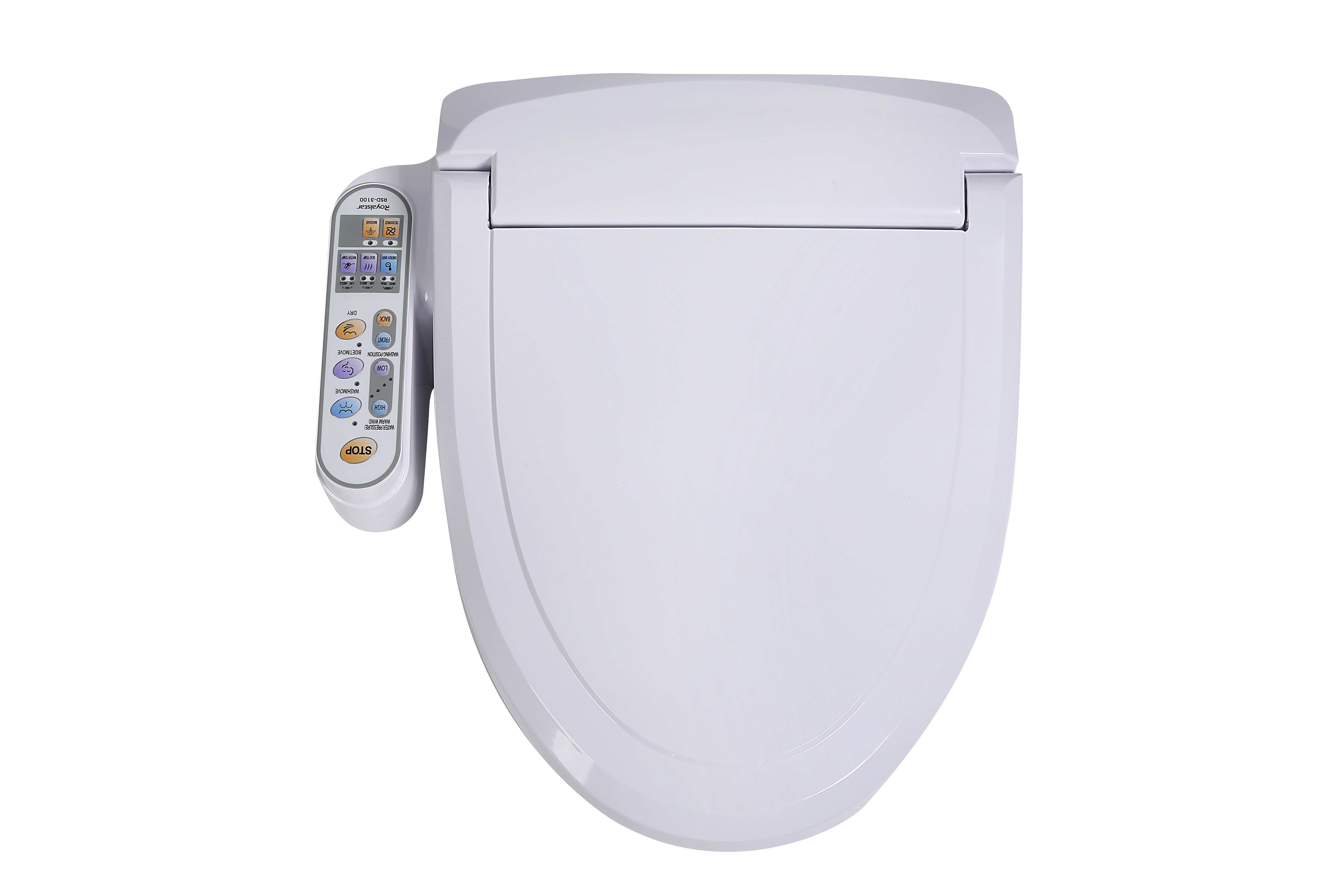 China Automatically Heating Bidet Toilet Seat With Hot Water Sprayer China Toilet Seat Electric Toilet Seat
