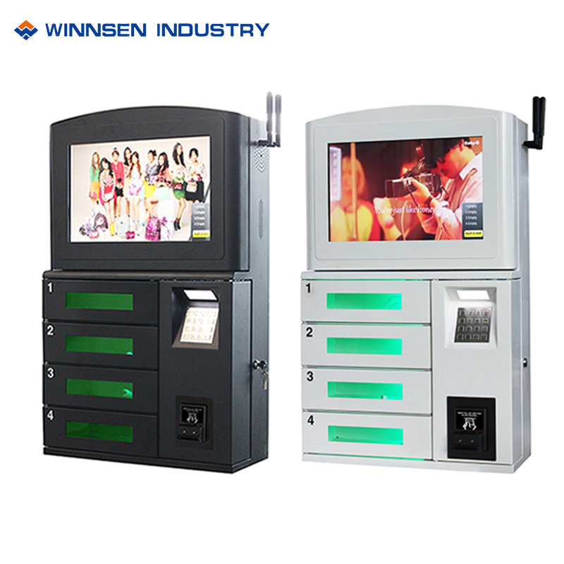 China Wall Mounted Multi Device Charging Station With Fast Charge System China Phone Charging Kiosk And Phone Charging Locker Price