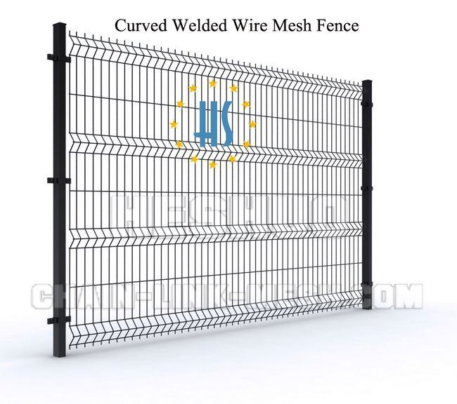 China Welded Wire Mesh Type Decorative Garden Fence - China Welded ...