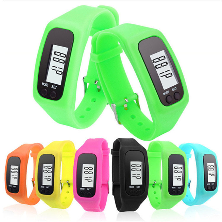 Custom Fashion Sport Fitness Digital Count Step Calorie Promotion Gift Wrist Watch Men Women pictures & photos