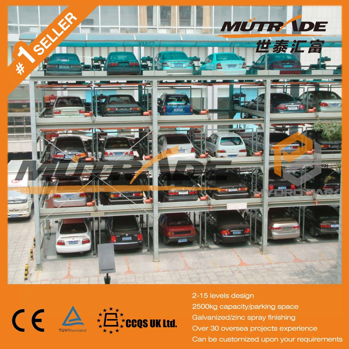 Hydraulic Vertical Multi-Level Automated Puzzle Car Parking Systems pictures & photos