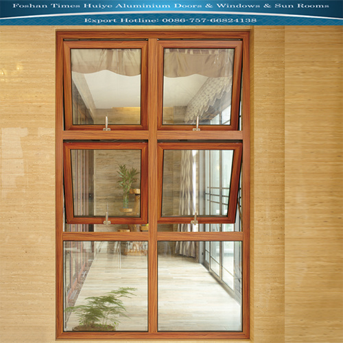 Aluminium Window with Louver and Shutter and Tempered Glass pictures & photos