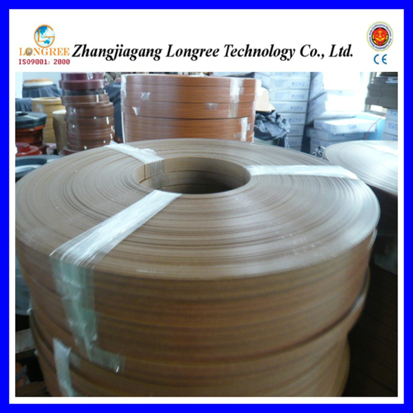 China PVC Edge Banding (LGEB) Photos & Pictures - Made-in-china com