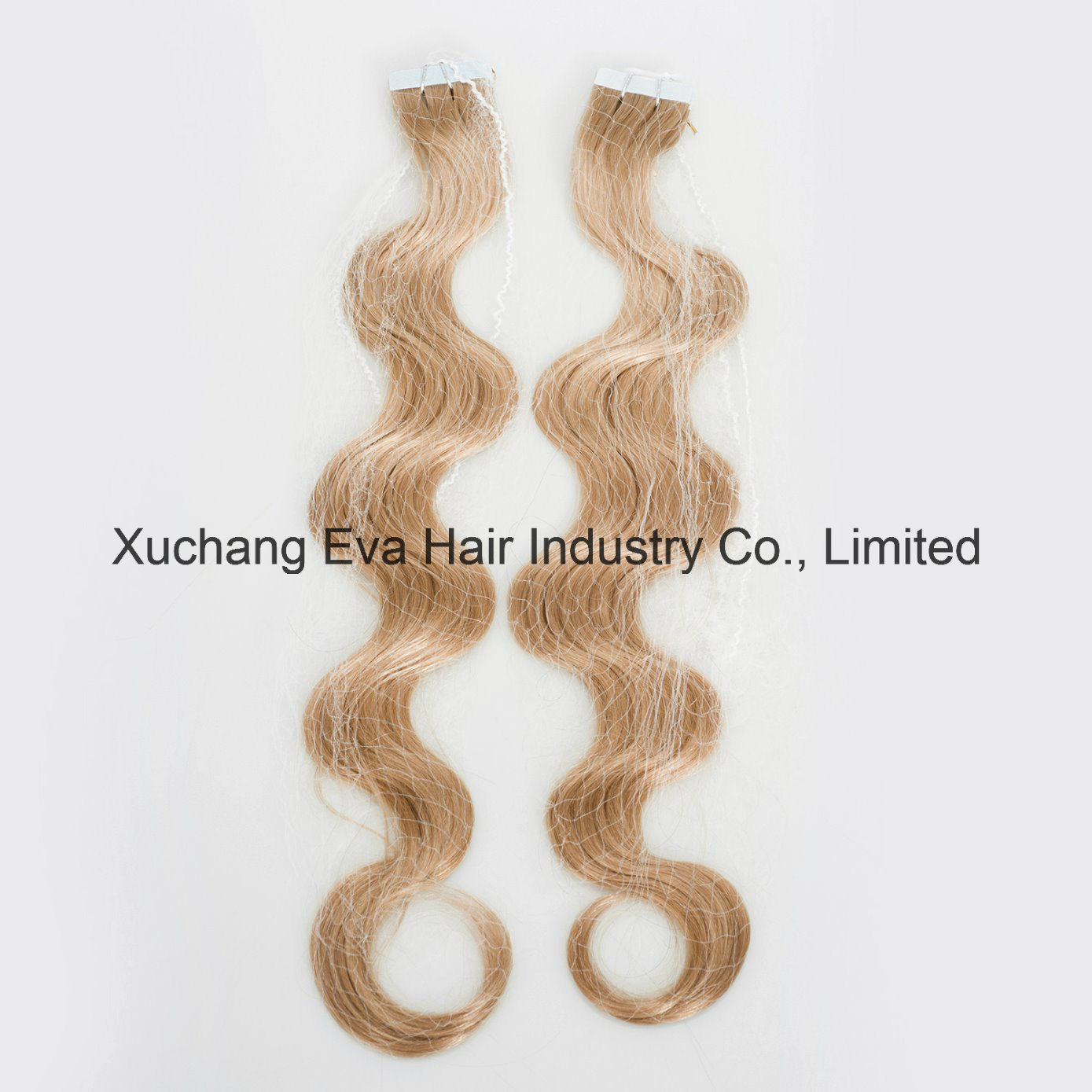 China Wholesale Full Cucitles Russian Remy Body Wave Tape Hair