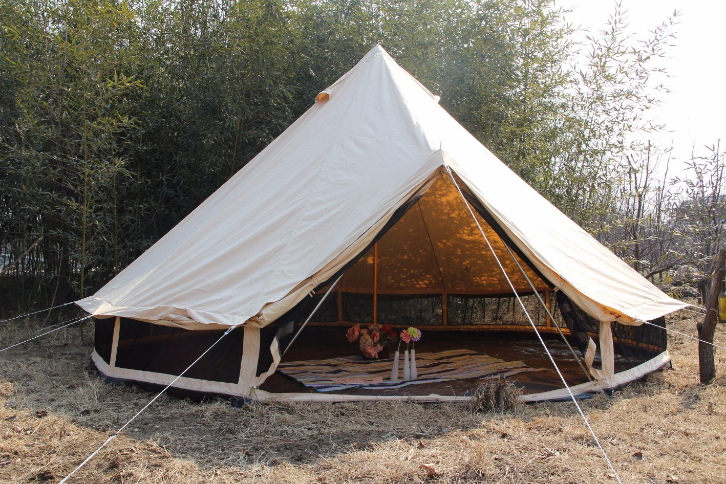 Heavy Duty Canvas C&ing Outdoor Teepee Tent Adults & China Heavy Duty Canvas Camping Outdoor Teepee Tent Adults Photos ...