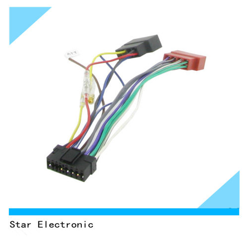 china 16 pin sony replacement radio loom china sony replacement rh starconnect en made in china com