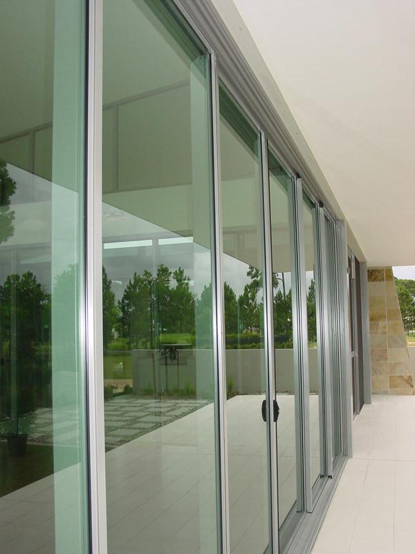 China Aluminum Multi Track Sliding Window And Sliding Door