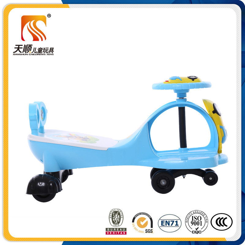 New Fashion Baby Swing Car with Music and Backrest Wholesale pictures & photos