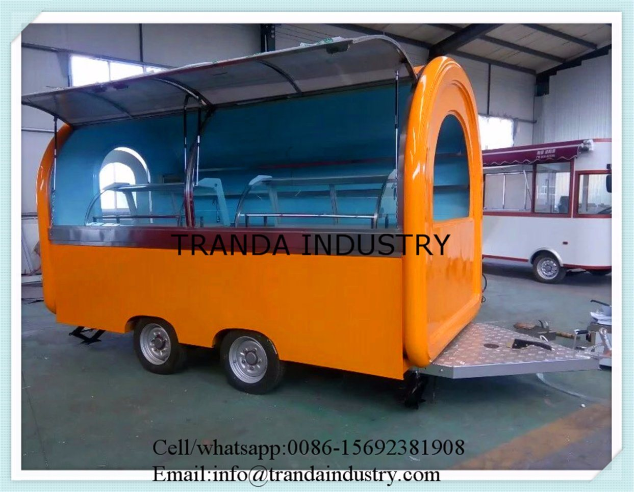 Best Selling ISO9001 Catering Trailer pictures & photos