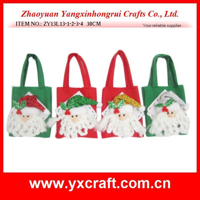 Christmas Decoration (ZY13L13-1-2-3-4) Wholesale Gift Boxes Christmas Decoration
