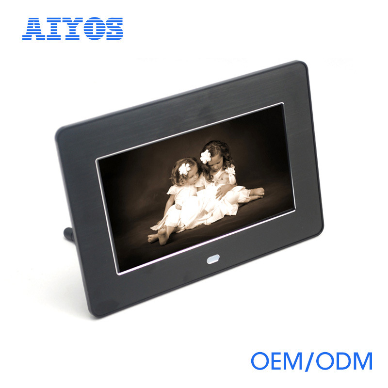 China 2017 Hot-Selling 7 Inch LCD Video Digital Frame Photos ...