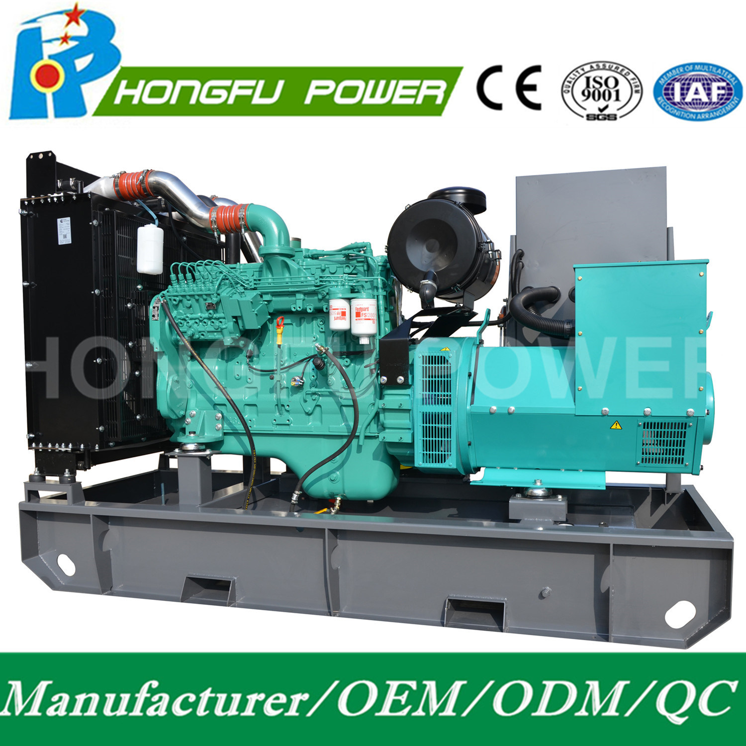 Cummins Power Open Type Diesel Generator with Electrical Governor pictures & photos