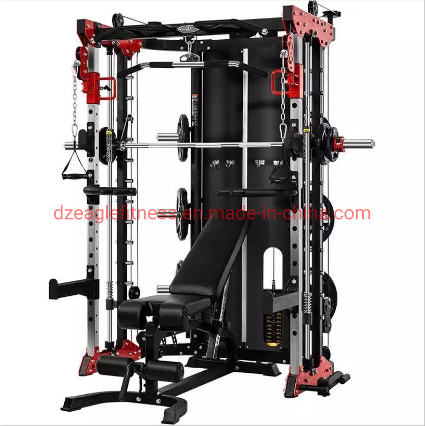 Fitness Factory Multi Function Smith Machine Strength Fitness Equipment for Home and Commercial Use