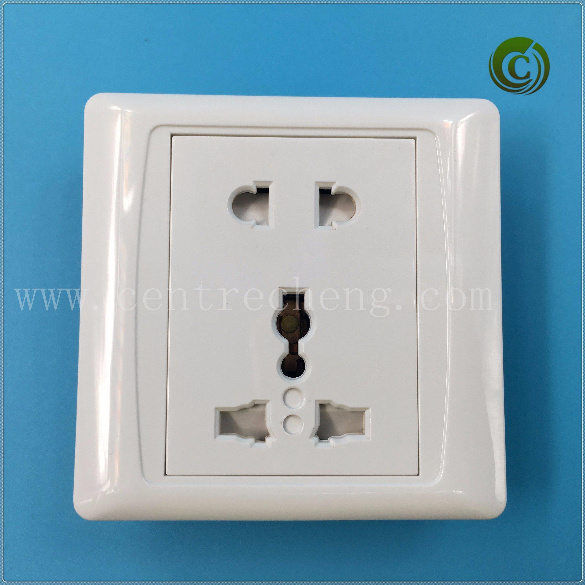 China 13A Wall Plug Outlet Dustproof Plug Plastic Plug Electrical ...