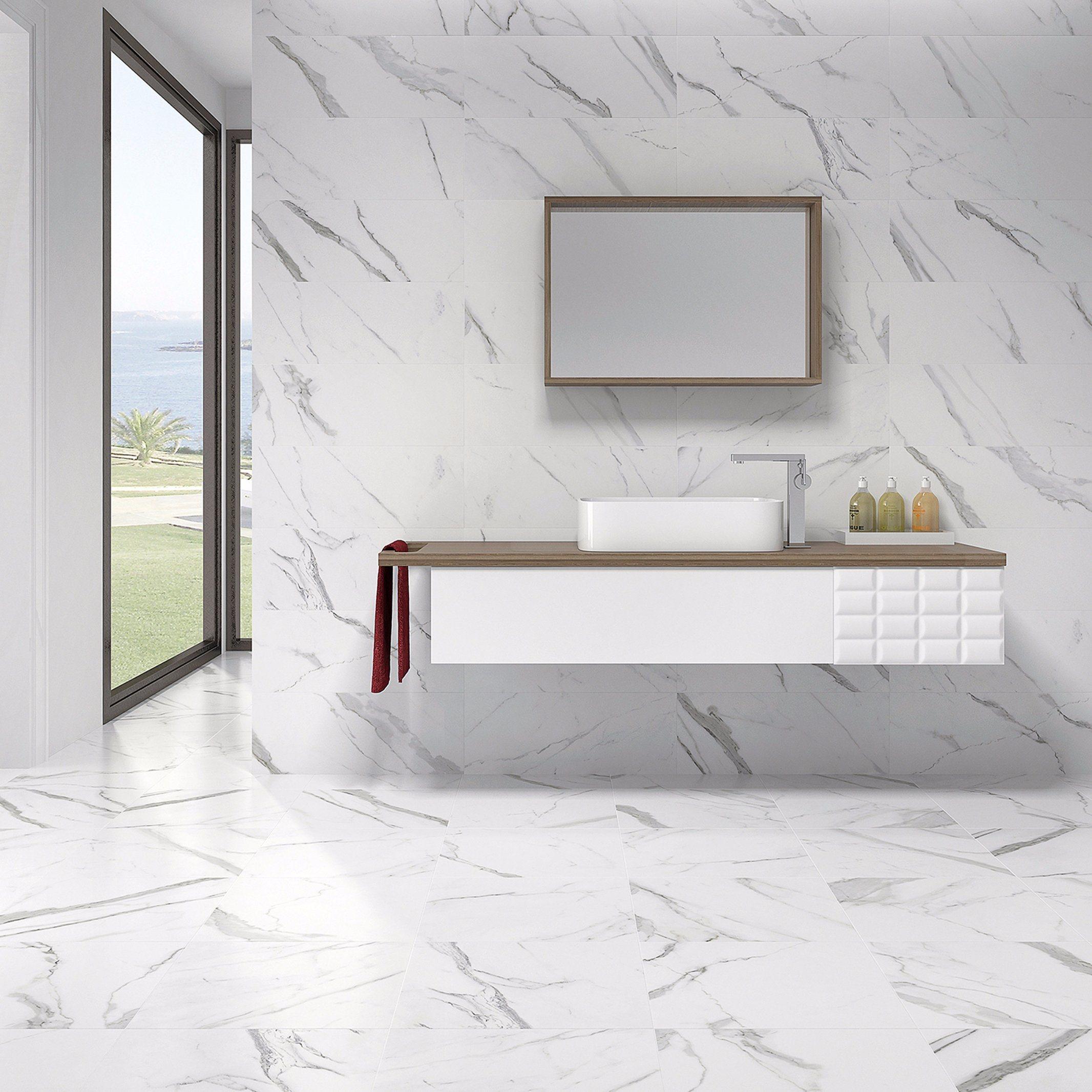 China Building Material Glazed Interior Ceramic Bathroom Wall Tile ...