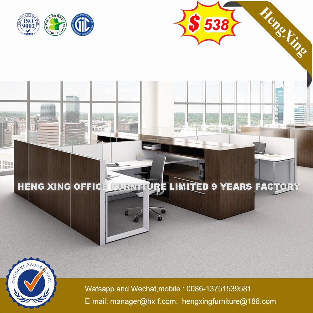Cers Staff Cubicles Operative Table Aluminum Office Partition Workstation Hx 8n9012