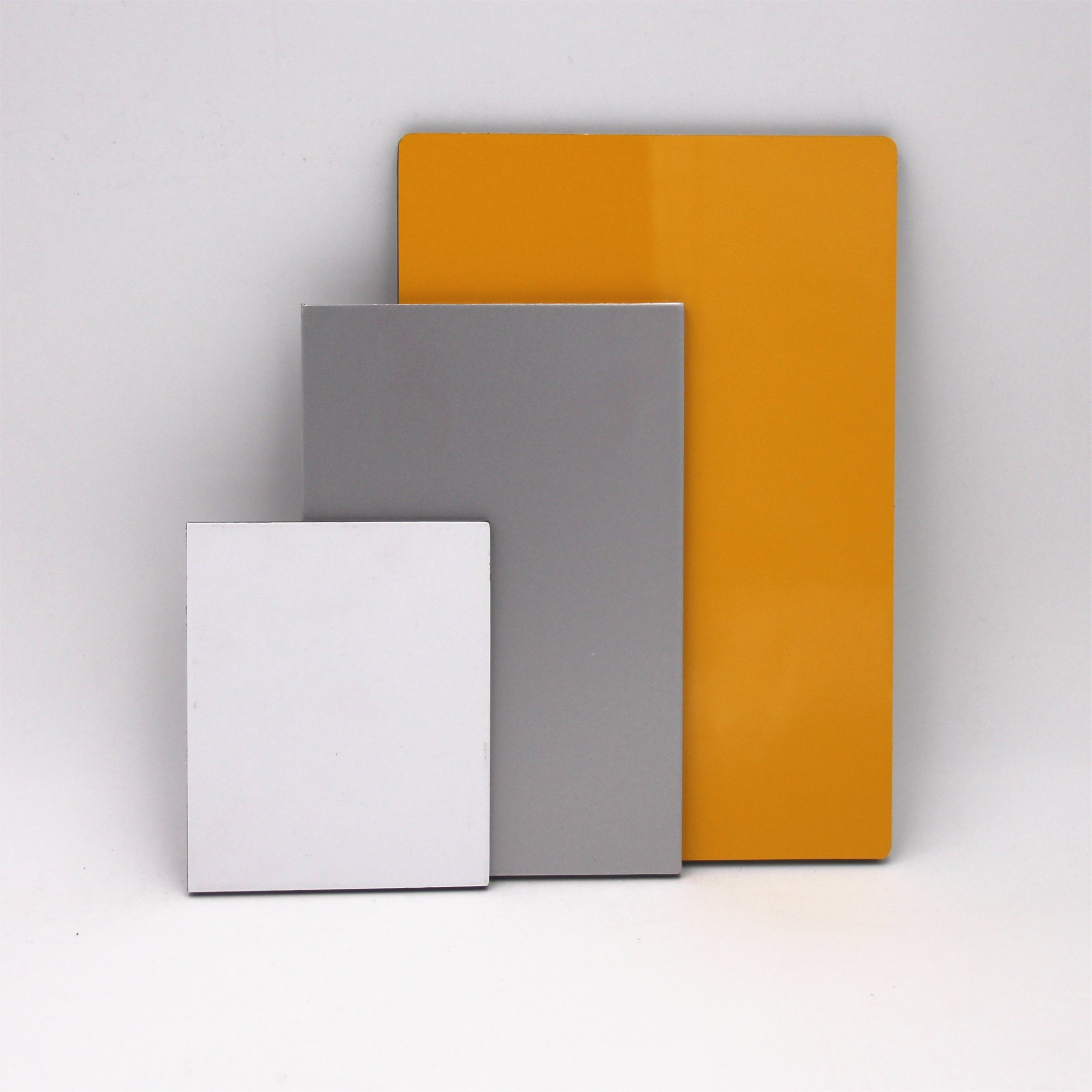 Exterior Wall Building Materials white core Alucobond