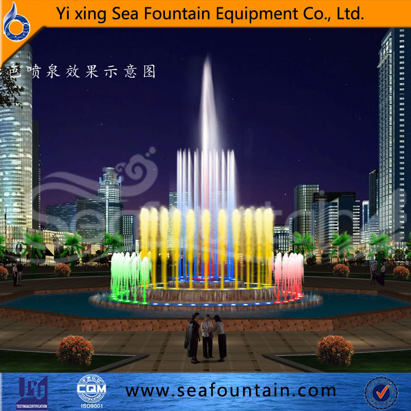 European Style Music Interactive Fountain pictures & photos