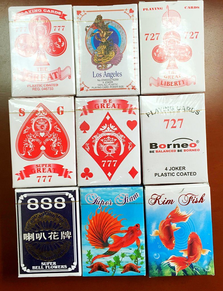 China 727 888 008 Playingcards China Golden Playing Cards And Sliver Playing Cards Price