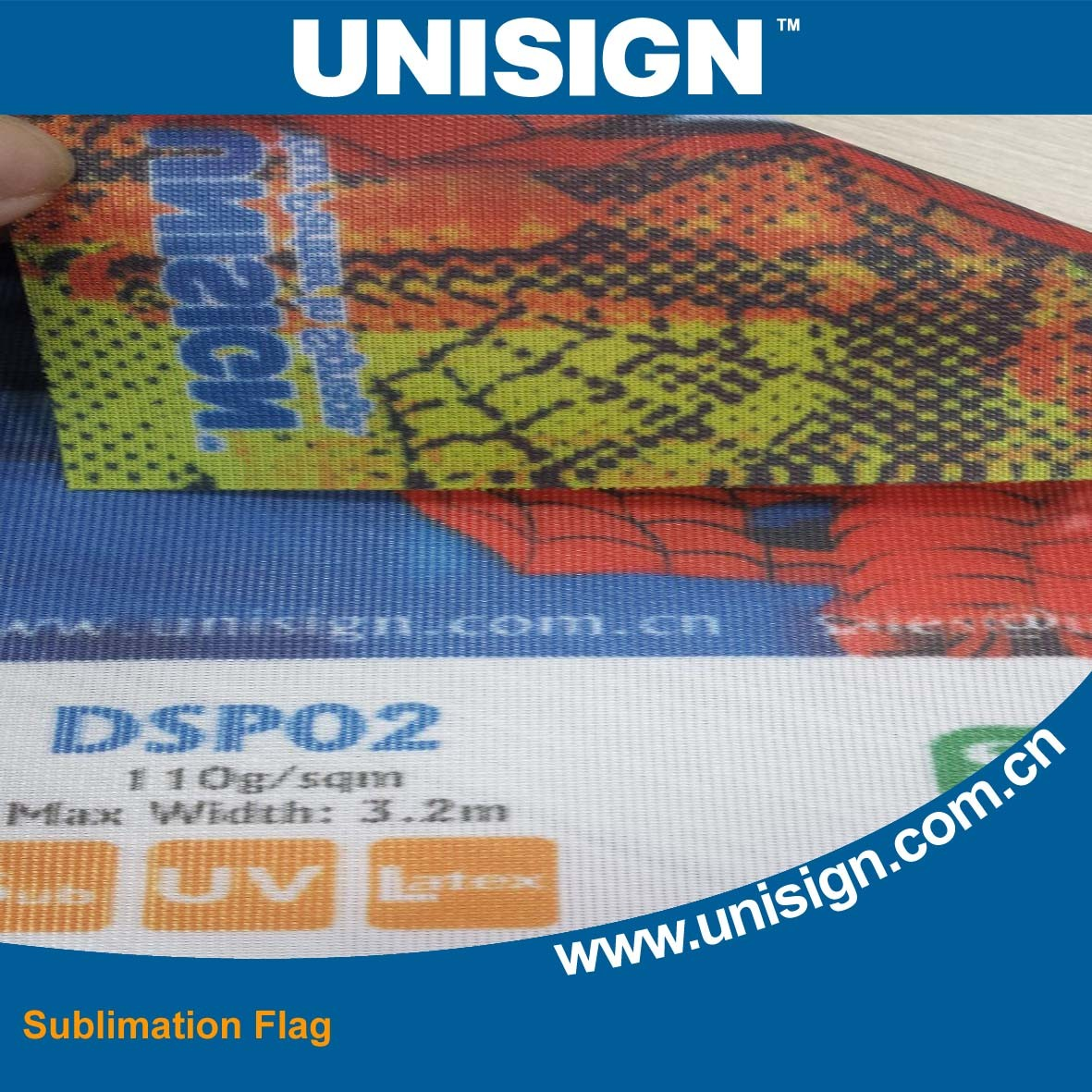 Direct Sublimation Printing Mesh Flag/ Direct Printing Flag Fabric pictures & photos