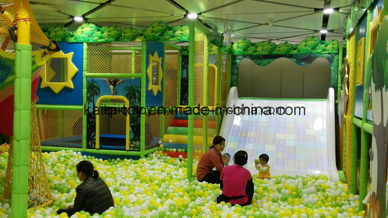 Kaiqi Large Castle Themed Indoor Soft Play Adventure Playground (KQ20140404-TQBF108A)