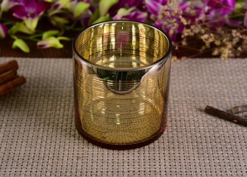 New Arrival Glass Candle Jar with Elegant Fresh Finish pictures & photos