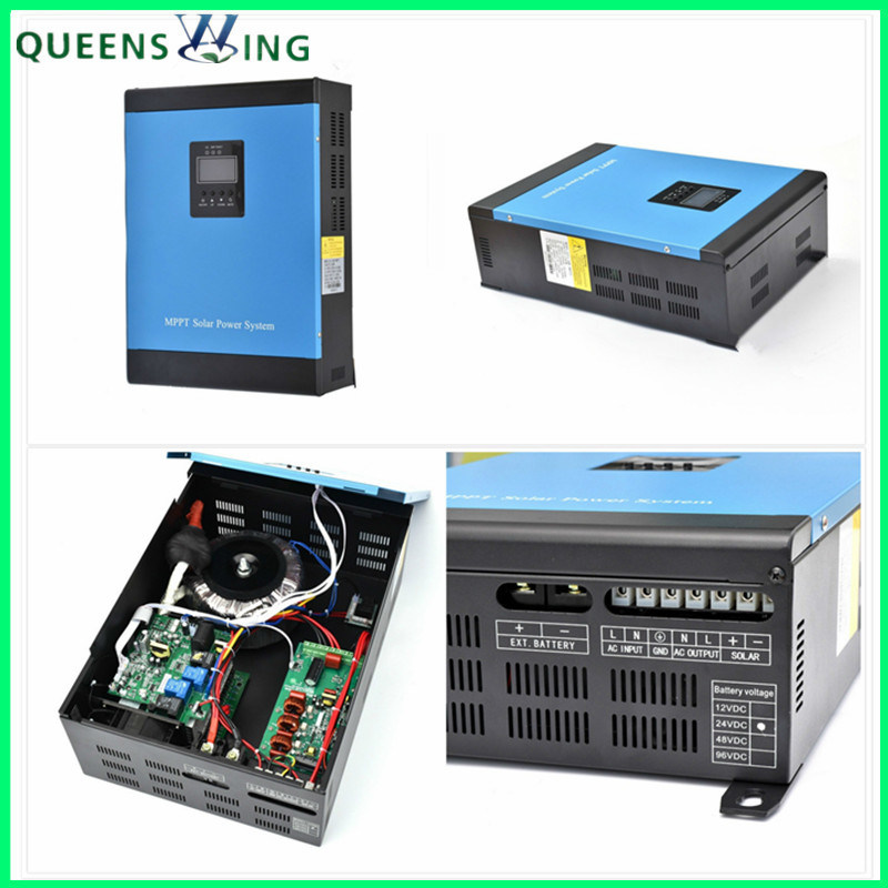 [Hot Item] 5000W 48V Solar Inverter with 60A MPPT Solar Controller for 110V  AC Locality (MI--7kVA)