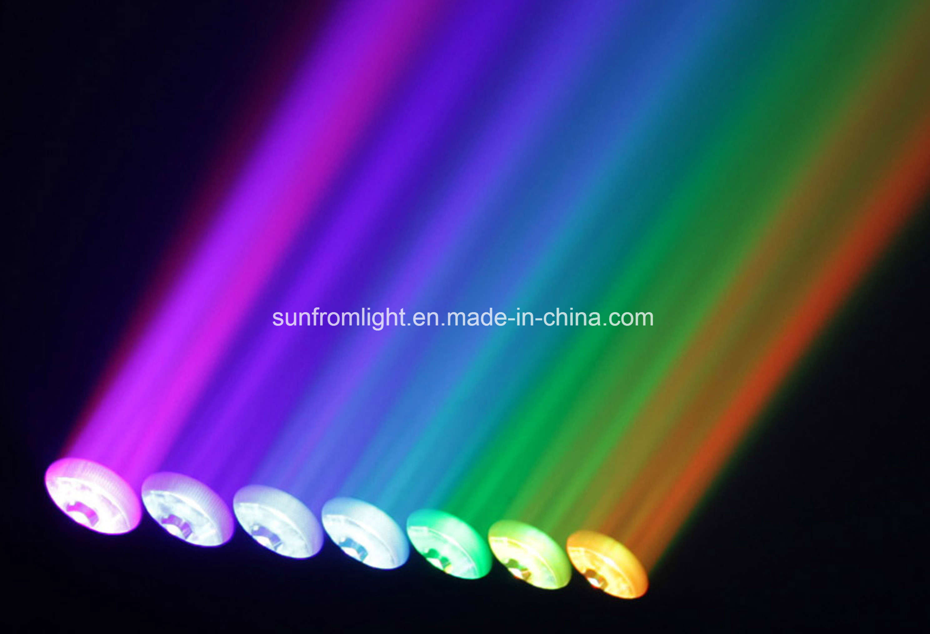 7X 40W Colorful LED Moving Head Beam