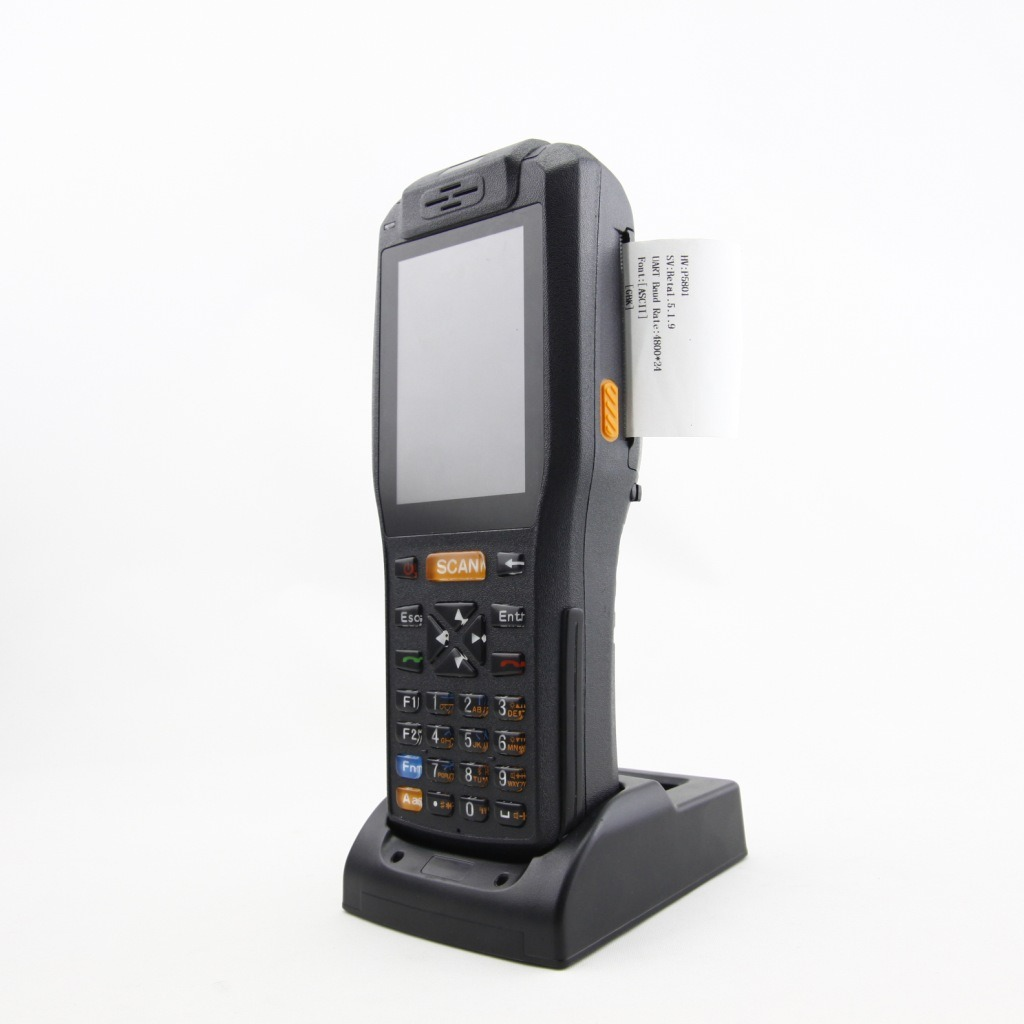 Handheld Computer PDA with NFC/3G/WiFi/58mm Thermal Printer and Barcode Scanner (PDA3505)