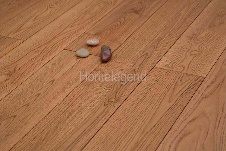 China Brown Ash Multi Layer Engineered Wood Flooringlaminate