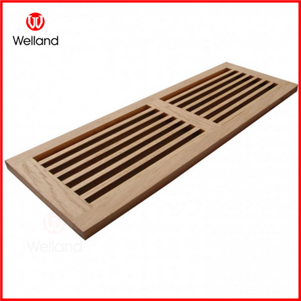 China Wooden Floor Vent Air Or