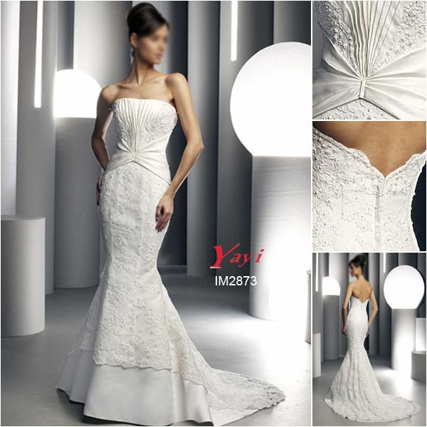 Wedding Gown Preservation Process Machines: China Unique Wedding Dress, Saucy Bridal Gown (IM2873