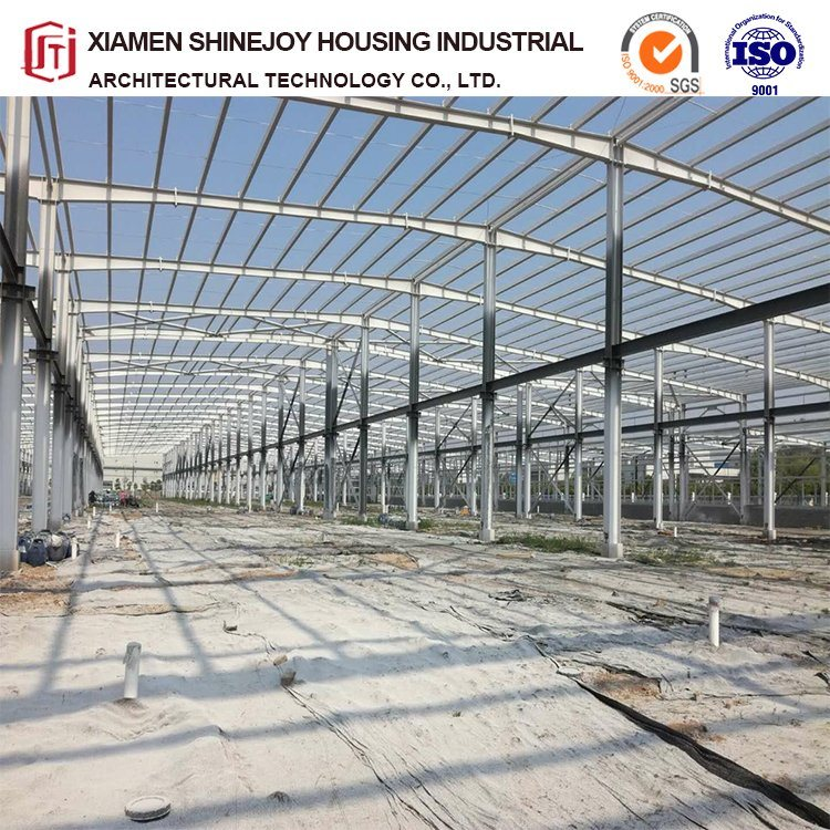 China Customized Peb Bim Steel Structure Buildings for Warehouse