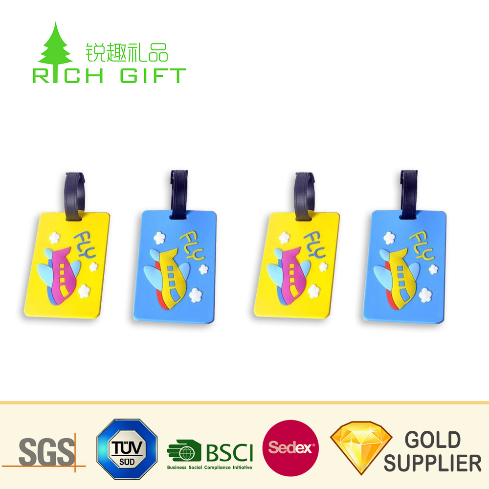 image relating to Free Printable Luggage Tags named China Manufacturing unit Lead Sale Personalized Blank Rubber No cost Printable