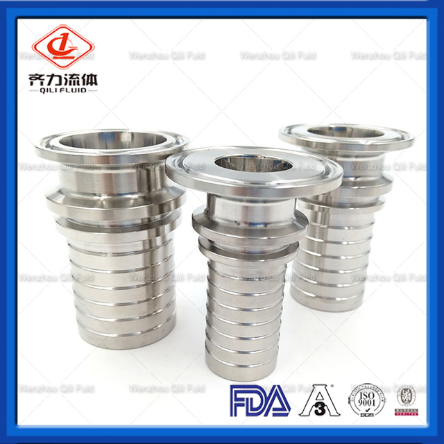 Stainless Steel Sanitary 3A-14mhr Liner Hose Fitting Coupling Connector pictures & photos