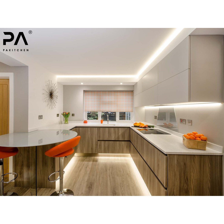 Hot Item Modern Design Bespoke Modular High End Kitchen Cabinets For Kitchen Mobile Home Kitchen Cabinets