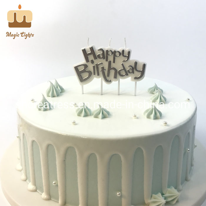 Terrific China Top Unique Silver Happy Birthday Cake Candles For Adults Personalised Birthday Cards Veneteletsinfo