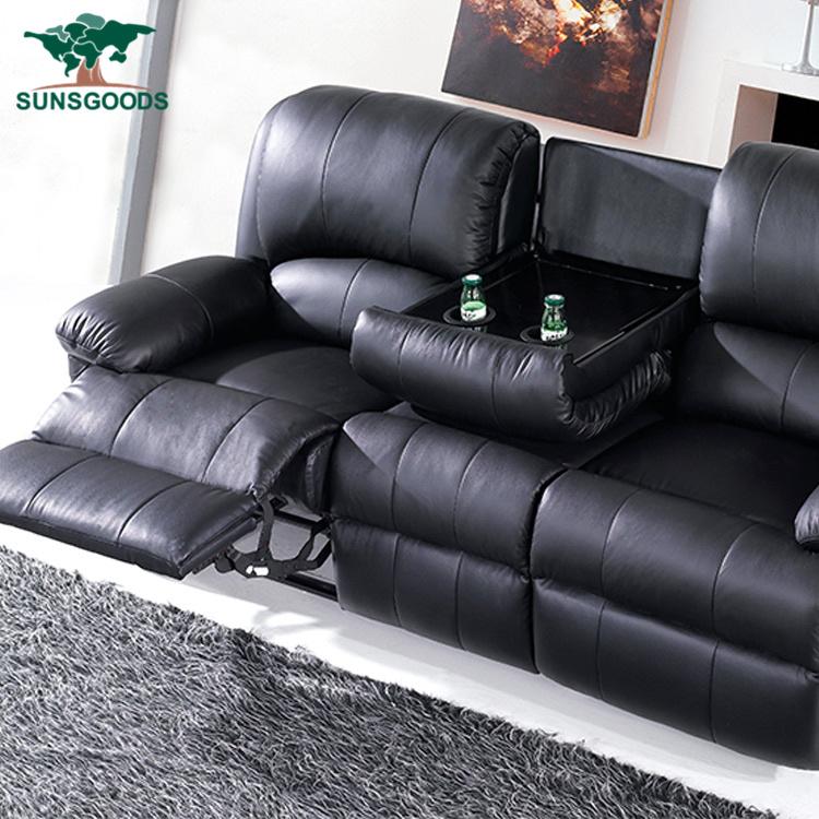 Customized Living Room Black Furniture