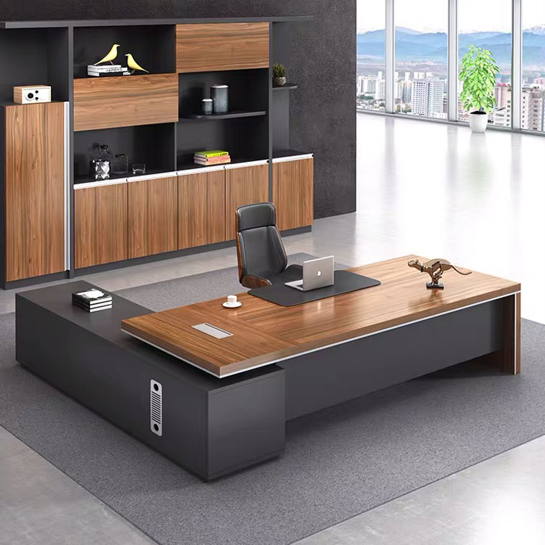 - China Luxury Office Computer Desks Office Furniture Office Desks
