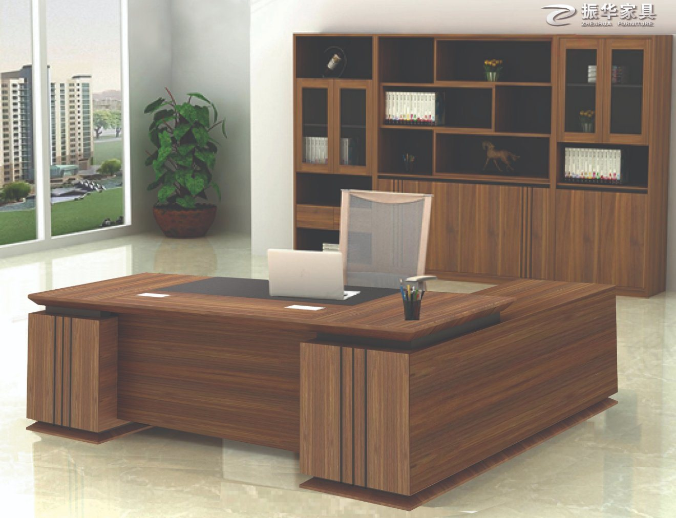 Executive Office Furniture Solid Wood