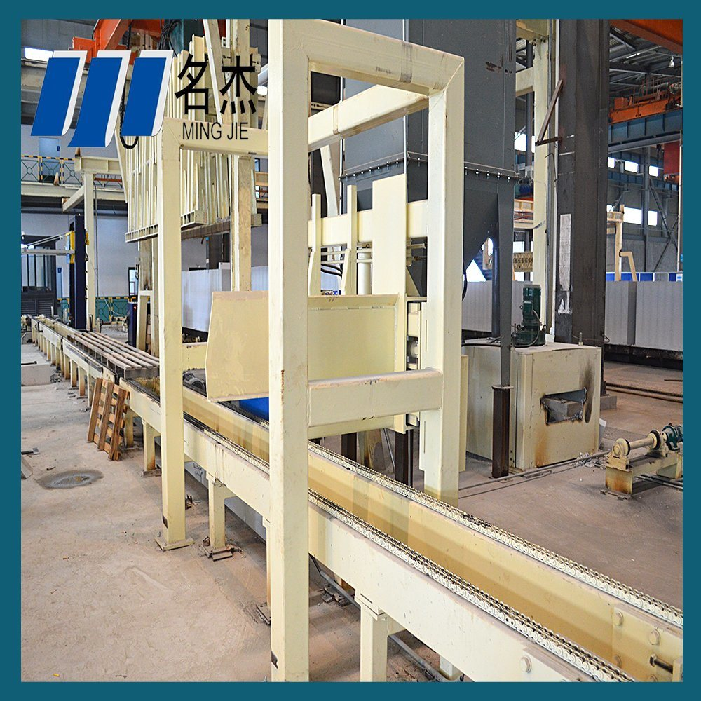 China Autoclaved Aerated Concrete Block Plant