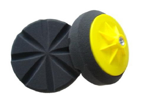Polishing Sponge Pad with Plastic Backing Plate