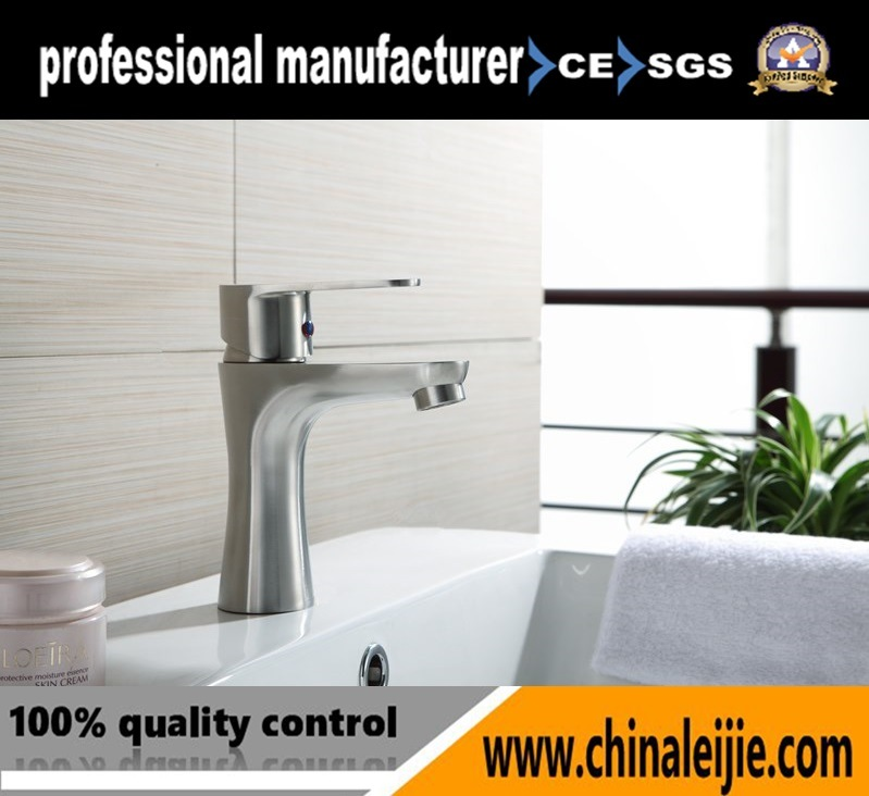 China Stainless Steel Square Basin Water Tap Waterfall Faucet for ...