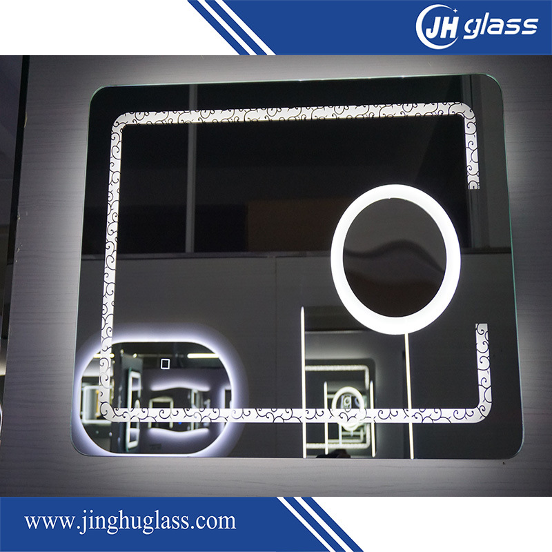 Frameless Magnified LED Lit Mirror with Infrared Sensor pictures & photos